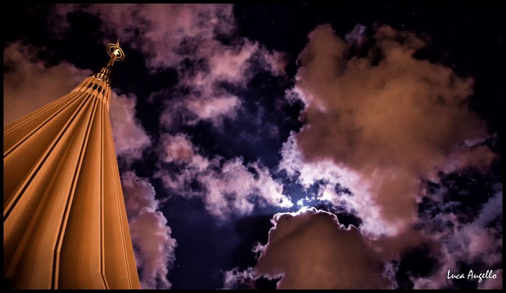 Notturno al Santuario di Siracusa